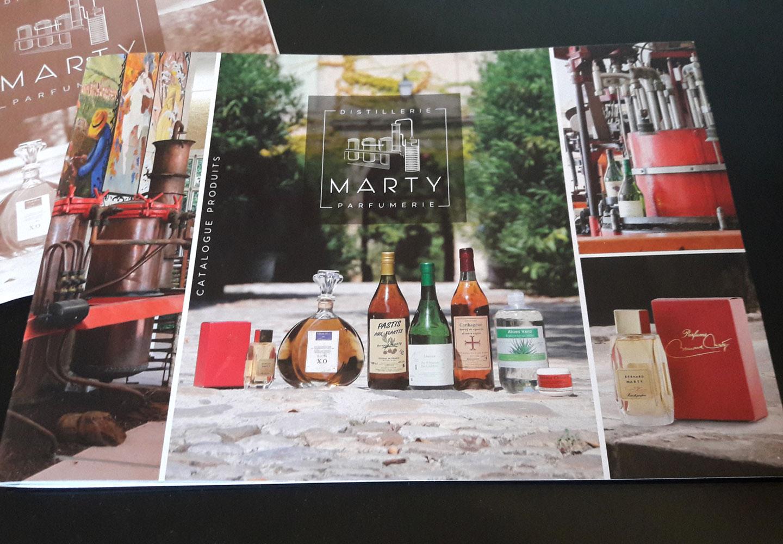 Monsieur l'Œil vous met au parfum : le nouveau catalogue Marty est disponible…